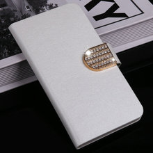 Luxury Wallet PU Leather Case Cover For sony Ericsson Xperia TX lt29i Case Flip Cover Phone Bag with diamond buckle(China)