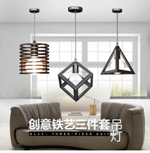 European style Iron chandeliers led lamps dining room led Chandelier E27 led lustre light chandelier