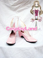 Code Geass Nunnally Vi Britannia's Pink Cosplay Boots Shoes Anime Party Cosplay Show Boots Custom Made for Adult Women Shoes(China)