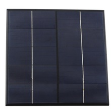 Wholesale 4.5W 5V Solar Cell Polycrystalline Solar Panel Solar Module DIY Solar Charger Education kits165*165*3MM Free Shipping