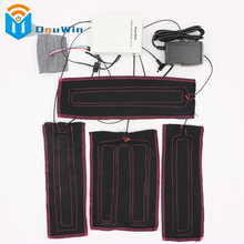 4pads Battery Heated pads DIY your own design clothing for heated jacket to keep body warm for winter jackets super Keep Warm(China)