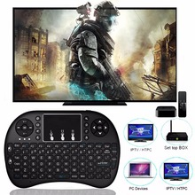 Mini i8 Wireless Keyboard 2.4GHz E/Russian letters Air Mouse Remote Control Touchpad For Android TV Box Notebook Tablet Pc