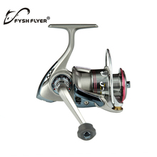 Fishing Spinning Reel Stainless Steel 8 + 1 high precision bearings; Alloy Body; Front Drag System; Metal Spool, silver(China)