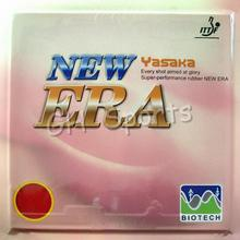 Table Tennis Rubber Yasaka NEW ERA 40mm BIOTECH Pips-in NO ITTF  H39-41 degrees for Tennis Table Racket Rubber 2.2mm