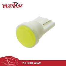 1X 12V Durable Car Led W5W T10 COB LED Ceramic Door Instrument Side Light Bulb Lamp 194 168 501 SMD red Pink White Bulb Lamp