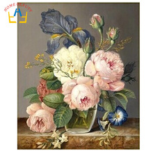 HOME BEAUTY 40x50cm picture paint on canvas diy digital oil painting by numbers home decoration craft gifts flowers G082