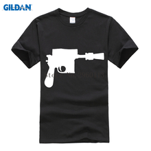 Discount mens t shirts 2017 blaster pistol gun t-shirt for men casual O-Neck printed homme cool online sales