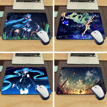 MaiYaCa Mouse Pad dancing hatsune miku vocaloid Rubber Soft aming Mouse ames Black Mouse pad