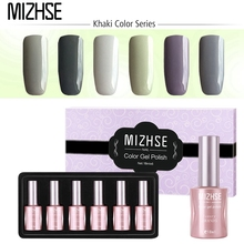 MIZHSE 18ML UV Lacquer Nail Hybrid Polish Vernis Semi Permanent Top Base Coat Lak Nagellak Verniz Soak Off Gel Varnishes Primer(China)