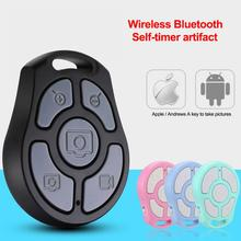 Newest 5 Key Selfie Shutter Bluetooth Remote Control Self timer fast camera/flexible zoom/adjusted lens/video For iPhone Android
