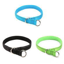 Three Colors Nylon Pet Collor Pet Traction Rope Dog Lead Leash for Racing Shaped Adjustable Hraness for Pet Management(China)