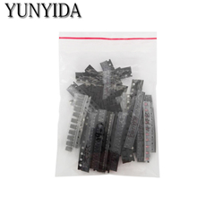 Free Shipping 35 values*10pcs= 350 pcs/lot SMD SMT Transistor and Diode Assortment Kit(China)