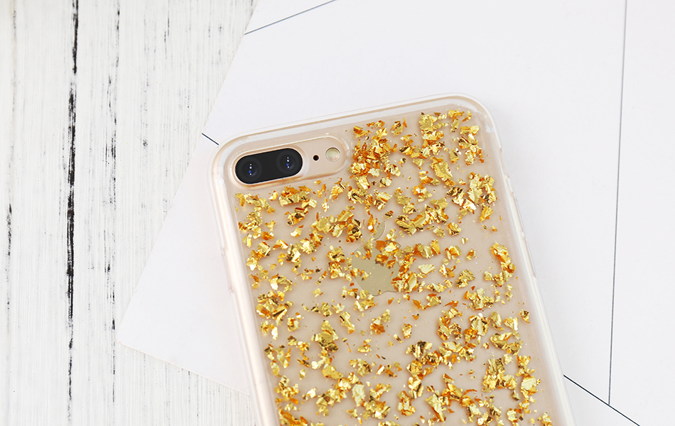 DOEES For iPhone 7 6 6S Plus 5 5S SE Case Luxury Cute Glitter Clear Case For Samsung Galaxy S8 Plus S7 S6 Edge S5 Note 7 5 Back Cover (21)