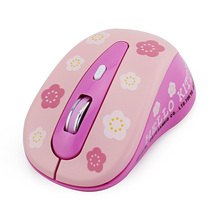 Cute Wireless Mouse Ergonomic Optical 1200DPI Mause for Gamer 4D Mini  Mice For Laptop Computer