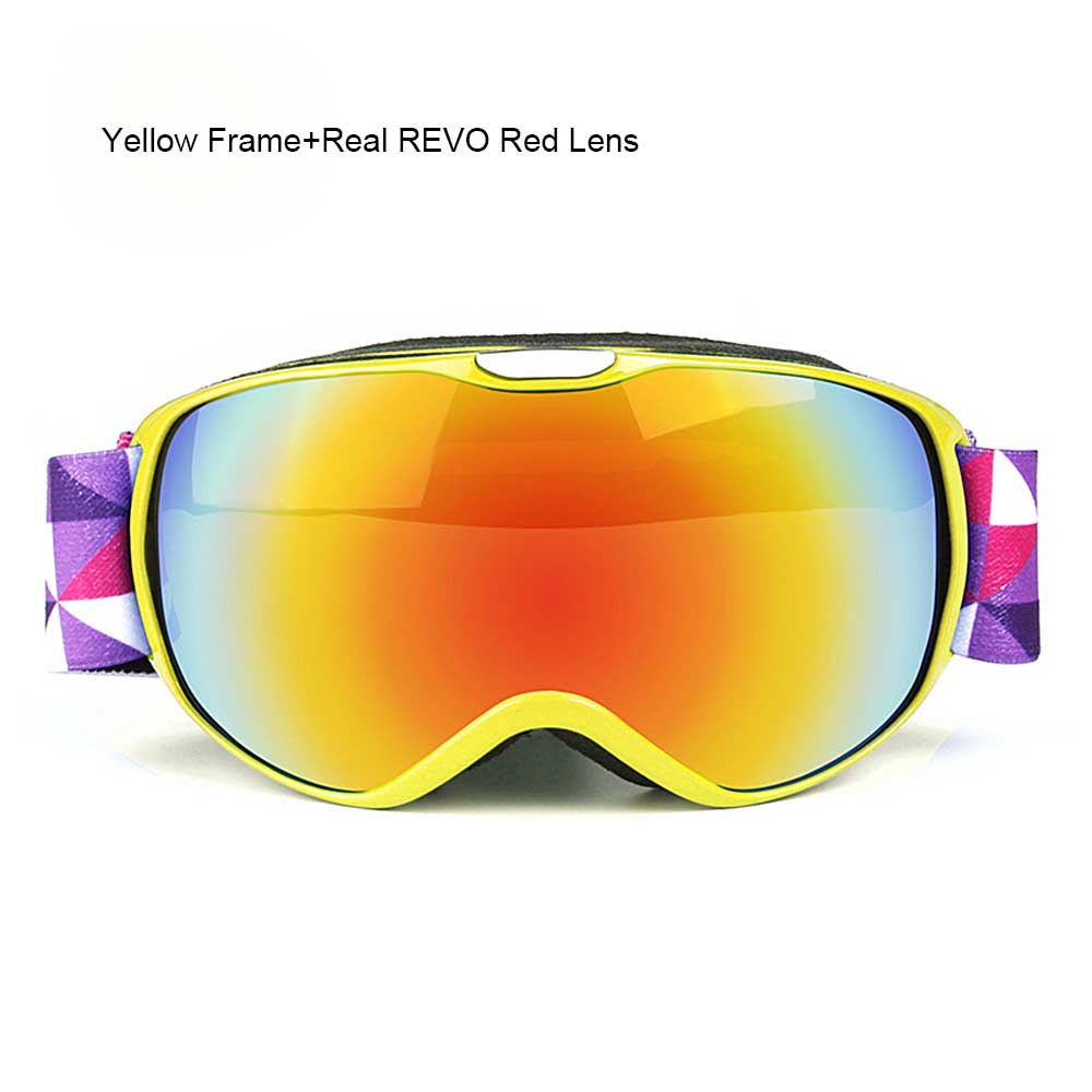 224dca9006 2019 OBAOLAY Snowboard Glasses UV400 Ski Goggles Anti Fog Skiing ...