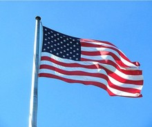 New Arrival 3'x5' 1pcs American Flag USA US FT Polyester Be Proud&Show off Your Patriotism New Flag in Wholesale