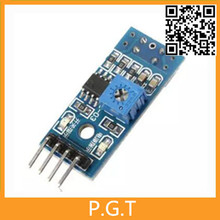 1pcs TCRT5000 Module IR Barrier Line Track Infrared Reflectance Sensor For Arduino Smart Car