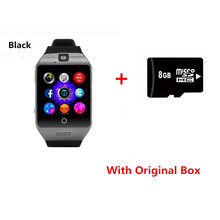 Bluetooth smart watch Apro Q18s Support NFC SIM GSM tf card Video camera Support Android/IOS Mobile phone pk I8S GT88 U8 DZ09