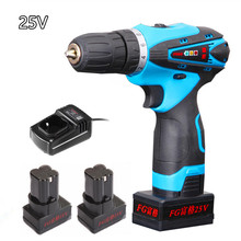 25V Lithium Battery household wireless electric drill Torque drill bits Hand Drill electric screwdriver wrench power tool sets