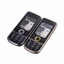 New Full Complete Mobile Phone Housing Cover Case+English OR Russian Keypad For Nokia 2700 2700c Housing + Tools(China)