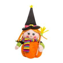 House LC New Plush Pumpkin Girl Dolls Children Toy Halloween Birthday Gift Home Decor 17Sep15 Dropshipping(China)