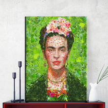 xh003 Frida Kahlo printing Wall Art Canvas Impressionist oil paintings poster and print canvas for living room frida kahlo
