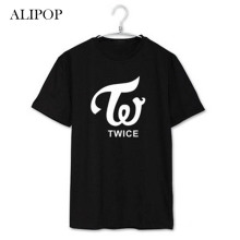 Youpop KPOP TWICE CHEER UP MOMO SANA MINA Album Shirts K-POP 2016 Casual Cotton Tshirt T Shirt Short Sleeve Tops T-shirt DX265