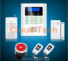 Safety Guard security 101 defense zones dual-network GSM PSTN alarm system,Drop shipping home alarm system