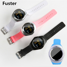 Fuster D08 Bluetooth Sim Card Smart Watch support Russia Spanish Portuguese Black White Blue all In Stock for Android and IOS(China)