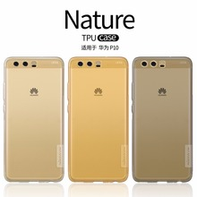 Huawei P10 Case Huawei P10 Plus Cover NILLKIN Nature Transparent TPU Soft Back Cover Case huawei p10 case silicon bcak cover