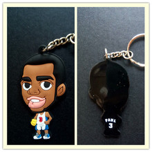 Miniverse Basketball Star 3 Chris Paul Keychain Doll (Clipper) White Kid Toy