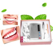 Portable Size Waterfree Ultrasonic Oral Irrigator Intelligent Teeth Cleaning Machine Household Dental Equipment For Tooth Care(China)