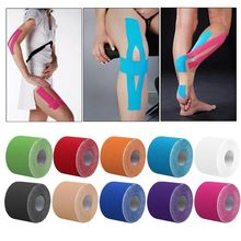 2* Roll 5cm* 5m Kinesiology Tape, Waterproof Elastic Physio Therapy Muscle Tape Sports Safety Tape Bandage Strain Injury Support