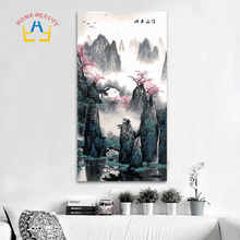 40*80cm large oil painting by numbers coloring drawing wall decor picture paint by number Chinese painting classic craft DY09(China)