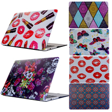 New Sexy Lip for Macbook Pro 13 15 Touch Bar Laptop Cove,Painted PC Coque for Macbook Air 11 13 12 Pro Retina 13 15 Laptop Case(China)