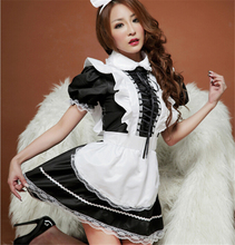 Hot Selling 2017 Women Sexy Maid Costume Halloween Christmas Carnival Costume sexy lingerie hot