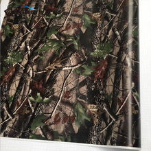 Break Up Real Camo Tree Vinyl Car Wrap PVC Adhesive Real Tree Camouflage Film For Truck Hood Roof Motors Gunskin Decal 30cm 60cm(China)