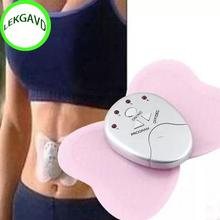 New Practical Butterfly Design Body Muscle Massager Electronic Slimming Massager for Fitness 4 LED lights display(China)