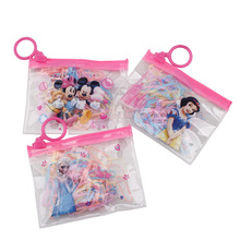 2017 hair accessories Elsa children candy color tie hello kitty baby girls strong pull rubber band elastic hair rope 240pcs/lot