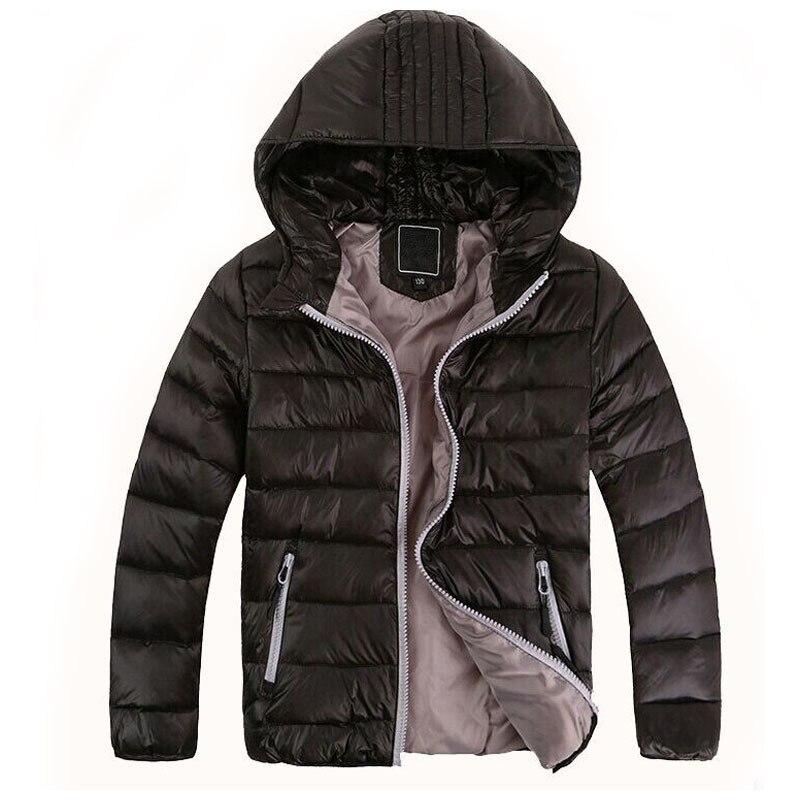 2017 Retail Fashion Childrens Outerwear Boy and Girl Winter Warm Hooded Coat Children Clothes boy Down Jacket kid jackets 3-12 <br><br>Aliexpress
