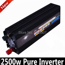 2500W Pure Sine Wave Inverter for Solar or Wind System, Single Phase, Surge 5000W, 2500W zonne-energie omvormer