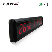 [Ganxin]Remote Control 1.8'' Red Color Led Days Sports Timing Clock Led Wall Clock