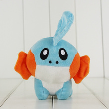 10pcs/lot 15cm Anime Kawaii Mudkip Plush Toy Mudkip Stuffed Animal Doll Mini Kid Toys