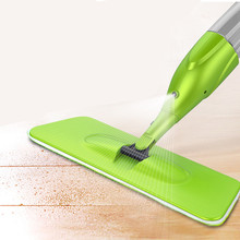 1PCS Magic Spray Mop High Quality Microfiber Cloth Floor Windows Cleaning Brush Home kitchen Bathroom Dedicated Cleaning Tools(China)