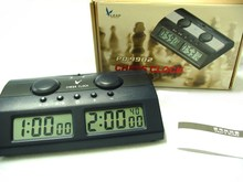 LEAP PQ9902C DIGITAL CHESS TIMER MASTER TOURNAMENT GAME CLOCK HANDHELD ELECTRONIC BOARD Player SET QUARTZ TRANIER MAN PIECE