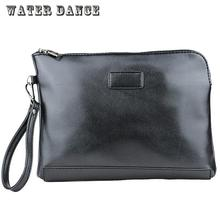 New Men's Fashion Handbag Hand Bag Leather Clutch Male Clip Bag  Business Mobile Phone Packet  Beach Tote Bag Men Messenger Bags