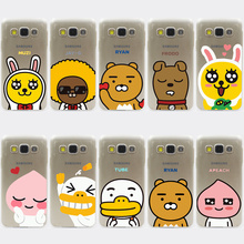Friends POP Korea Cartoon Characters Hard Case Cover for Samsung Galaxy S3 S4 S2 S5 Mini S6 S7 S8 Edge Plus case
