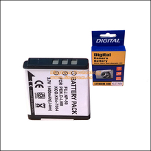 Wholesale 10pcs/Lot. Rechargeable Battery NP-50 NP-50A Compatible Pentax D-Li68 Kodak KLIC-7004 for FinePix F775 EXR REAL 3D W3