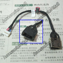1-10 pcs New Laptop DC Power Jack with cable for LENOVO B50 B50-30 B50-45 B50-70 B50-80 DC Jack L=145MM