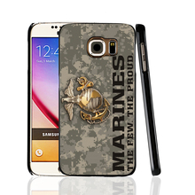 08891 Usmc Marine Corps Camouflage cell phone protective case cover for Samsung Galaxy A3 A5 A7 A8 A9 2016